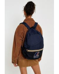 K-Way - Navy Blue Packable Backpack - Lyst