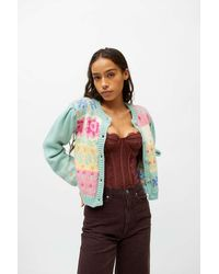Tach Clothing Tach Inessa Wool Cardigan - Multicolour