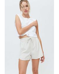 adidas Elevated Woven Pacer Short - Natural