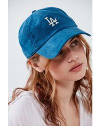 American Needle Corduroy Micro Variant Baseball Hat - Blue