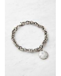 Urban Outfitters Chunky Chain Bracelet - Metallic