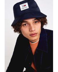 Lock   Co. Reversible Waterresistant Bucket Hat in Blue for Men - Lyst f45448bf3e12