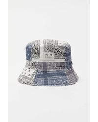 Urban Outfitters Uo Bandana Patchwork Bucket Hat - Multicolor