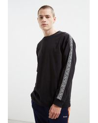 Urban Outfitters | Uo Jacquard Taped Long Sleeve Tee | Lyst