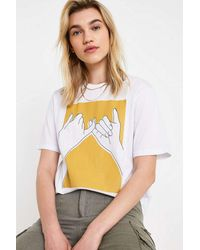 041c6c6a8c Pinky Promise T-shirt - White