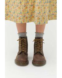 Dr. Martens - 1460 Crazy Horse 8-eye Boot - Lyst