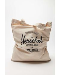 Herschel Supply Co. Canvas Tote Bag - White