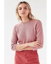 Urban Outfitters - Uo Starla Cropped Sweater - Lyst
