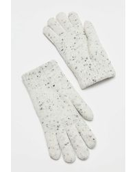 Urban Outfitters Marlo Donegal Knit Glove - White