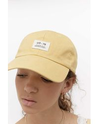 Urban Outfitters Uo Canvas Cap - Multicolour