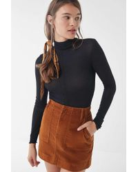 Out From Under Theresa Turtleneck - Black
