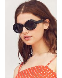 Urban Outfitters - Venice Oval Sunglasses - Lyst