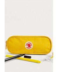 Fjallraven - Kanken Yellow Pencil Case - Womens All - Lyst