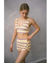 Out From Under Sonia Side-snap Dolphin Short - Multicolor