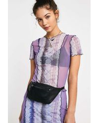 Urban Outfitters Uo Leather Bum Bag - Multicolour