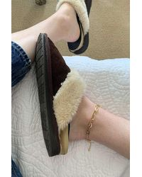 Urban Outfitters Chain Layer Anklet - Metallic