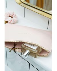 Estella Bartlett - Woman On A Mission Embossed Blush Pink Pouch - Lyst