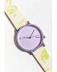 Komono Lewis 10 Year Camo Watch - Multicolor