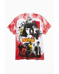 Urban Outfitters Pulp Fiction Oversized Print Tee - Red