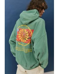 Urban Outfitters Uo Washed Equinox Hoodie - Green