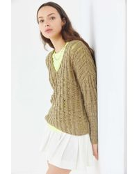 Urban Outfitters - Uo Tassa Textured Pullover Sweater - Lyst