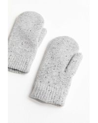 Urban Outfitters - Chenille-lined Mitten - Lyst