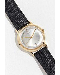 Timex Marlin Hand-wound Watch - Black