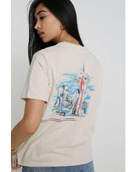845d9de10b Uo Nasa Sketch T-shirt - Womens L - White