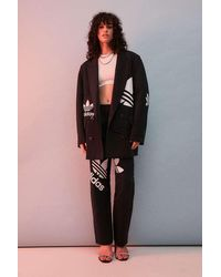 adidas X Dry Clean Only Black Tailored Blazer