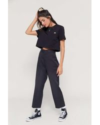 Dickies Uo Exclusive High-waisted Ankle Pant - Blue