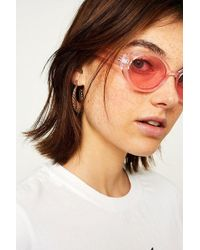 Urban Outfitters - Squashed Oval Sunglasses - Lyst