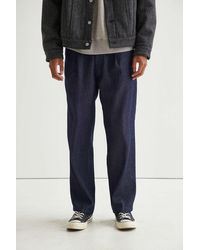 Urban Outfitters Levi's X Felix The Cat Pleated Jean - Blue