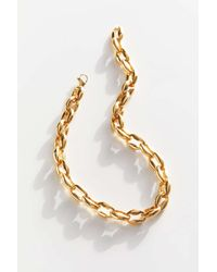 Ellie Vail Freya Chunky Chain Necklace - Metallic