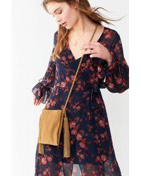 Urban Outfitters   Tassel Fringe Mini Crossbody Bag   Lyst