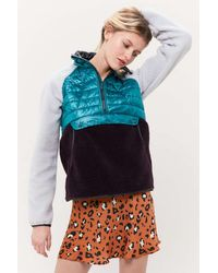 Mountain Hardwear Altiustm Hybrid Half-zip Pullover Jacket - Blue