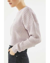 Urban Outfitters - Uo Big Sur Ribbed Pullover Sweater - Lyst