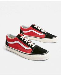 """Vans Sneaker """"Anaheim Factory Old Skool"""" - Rot"""