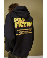 Urban Outfitters Pulp Fiction Photo Hoodie - Black