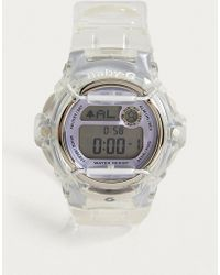 G-Shock - Clear Pink Baby-g Watch - Lyst