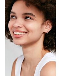 Urban Outfitters - Modern Hoop Earring - Lyst