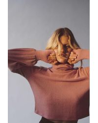Out From Under Cozy Ribbed Turtleneck Sweater - Multicolour