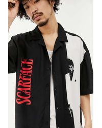 Urban Outfitters Uo Scarface Revere Shirt - Black