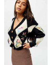 Tach Clothing Tampa Wool Cardigan - Black