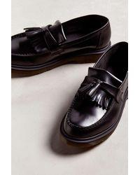 Dr. Martens Adrian Tassel Leather Loafers - Black