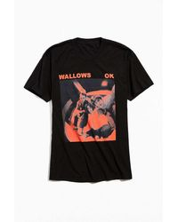 Urban Outfitters Wallows Uo Exclusive Ok Album Cover Tee - Black