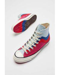 Converse Chuck 70 Nor'easter Felt High Top Sneaker - Blue