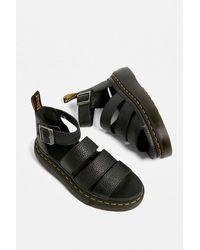Dr. Martens Clarissa Quad Sandals - Black