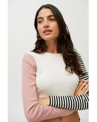 Truly Madly Deeply Frances Striped Tee - Multicolor