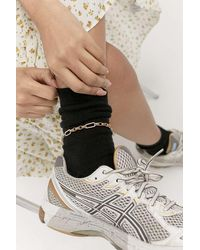 Urban Outfitters Chain Link Anklet - Metallic
