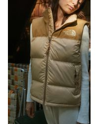 The North Face - Eco Nuptse Puffer Vest - Lyst